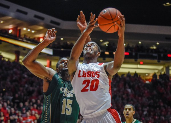 Sam Logwood Had A Break-Out Game In The Lobos Win Over Colorado State (Roberto Rosales, Albuquerque Journal)