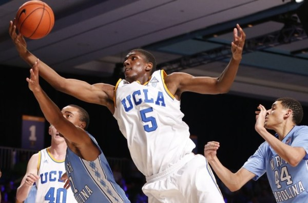 Kevon Looney's Wingspan And Strong Hands Make Him A Natural Pass Catcher In Both Sports (USA Today)