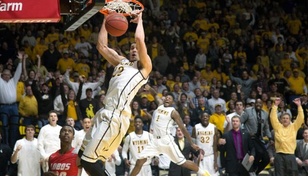 Larry Nance's Slam Just Before Time Expired In Overtime Sealed A Stunning Win For Wyoming (Wyoming Athletics)