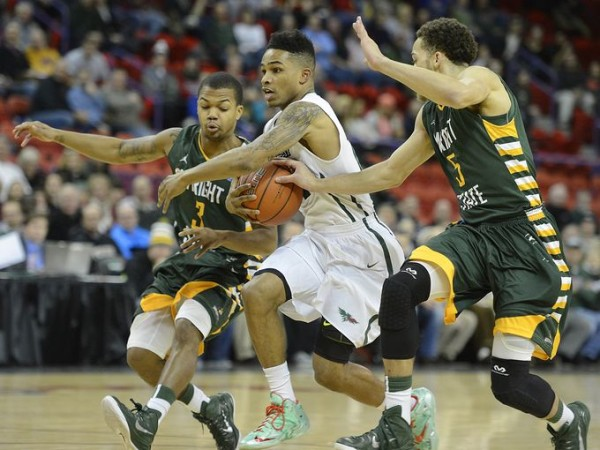 No one could stop Keifer Sykes last week. (Photo: Evan Siegle/Press-Gazette Media)
