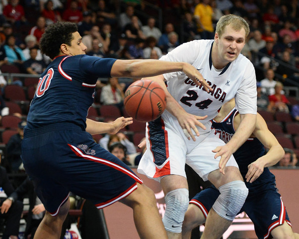 Brad Waldow Will Need To Shine Against The Big Gonzaga Front Line (Getty Images)