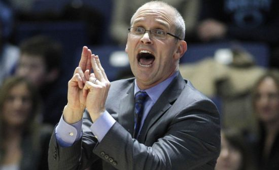 This team is a year ahead of schedule, but with a weak out of conference slate (SOS rank #238) coach Dan Hurley's squad is still on the wrong side of the cutline. (AP)