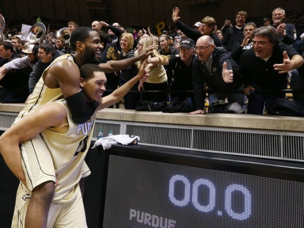 Raphael Davis has carried his share of the weight this season for Purdue. (Mike Fenner, Indianapolis Star)