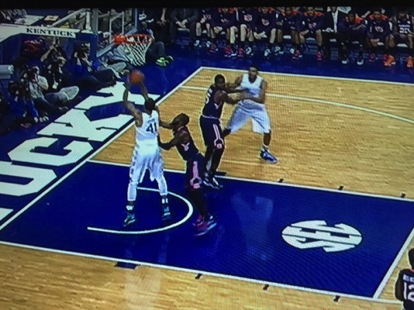 And one for Lyles (screen grab via ESPN).