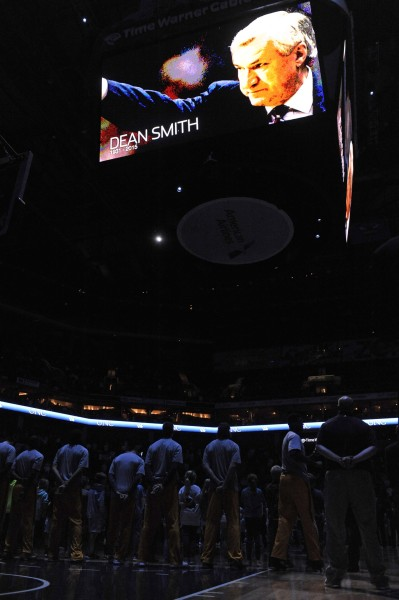 The Basketball World Paused on Sunday to Honor Dean Smith's Passing (USA Today Images)