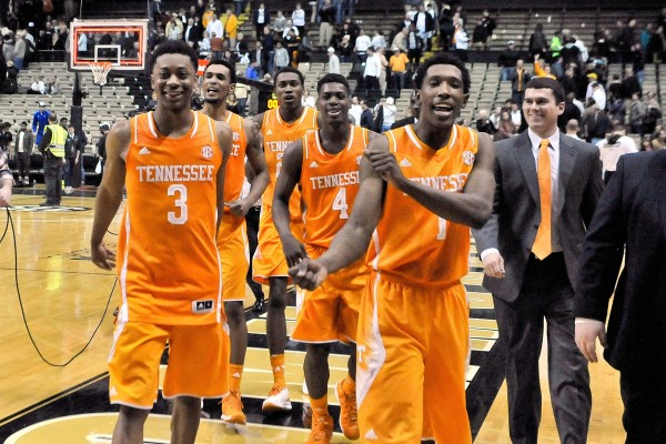 The Volunteers and Richardson Were Smiling at Vandy (USA Today Images)