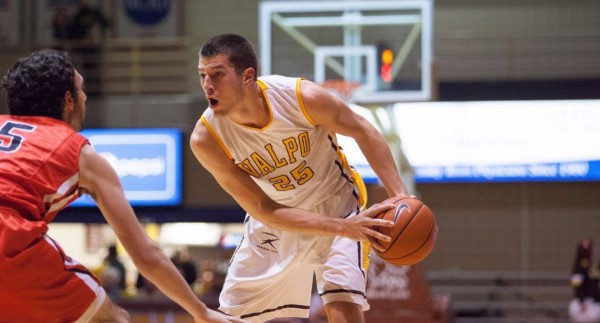 Alec Peters and Valparaiso are in the Horizon League driver's seat. (Valparaiso Athletics)
