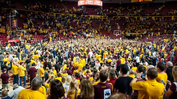 Arizona State's Performance On Saturday Sparked Celebration In Tempe