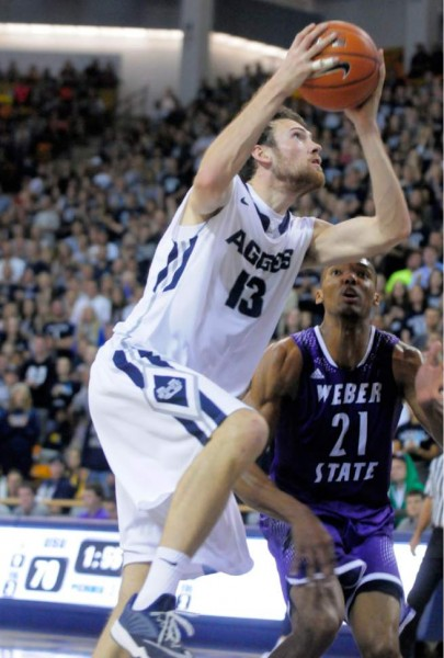 David Collette and Utah State Have Been A Nice Surprise