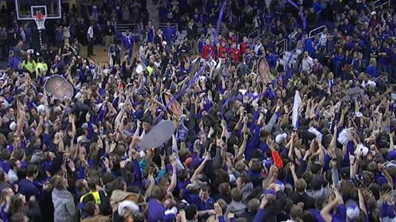 The answer to the court-storming question is simpler t