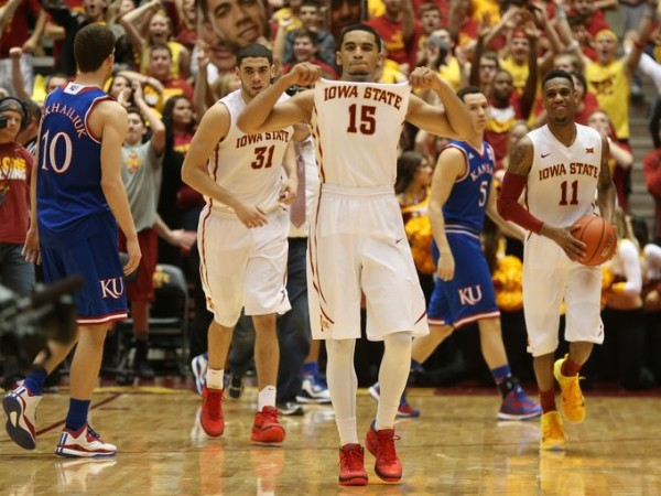 Will Iowa State celebrate a second victory over Kansas on Monday? (Charlie Litchfield/The Register)