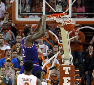 The oft-criticized Cliff Alexander played well against Texas last month, but will sit out today's game against the Longhorns. (AP Photo/Michael Thomas)