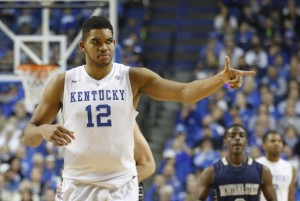 Karl-Anthony Towns has been a beast of late (Mark Zerof/USA Today Sports)
