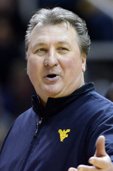 West Virginia's win over Kansas reportedly earned a $25,000 bonus for Bob Huggins. (AP Photo)