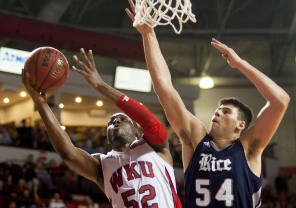 Rice went to Western Kentuckyon Saturday and took down the Hilltoppers. (Austin Anthony / BG Daily News)