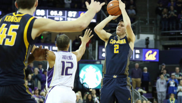 Sam Singer's Three In The Closing Seconds In Seattle Gave The Golden Bears a Road Sweep (Cal Athletics)