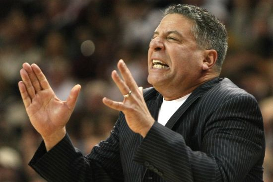 Bruce Pearl's first season in Auburn has been a disappointment. (AP)