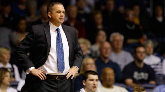 Who could argue with the job that Chris Holtmann has done this season? (AP)