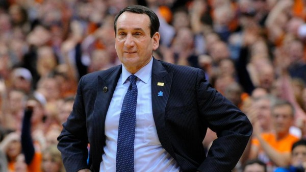 Mike Krzyzewski leads Duke into the Sweet Sixteen for the th time. (Sporting News Photo)