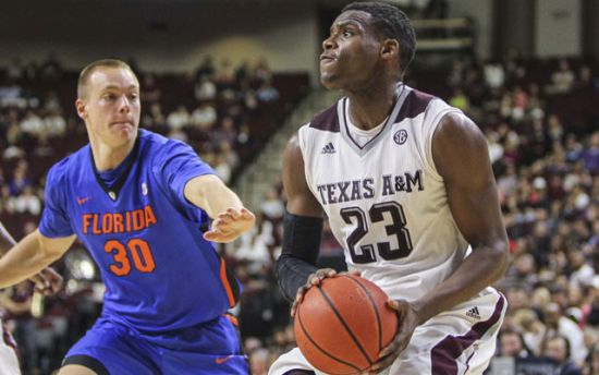 Danuel House and Texas A&M are desperate for a couple of wins in Nashville. (USA Today Sports)