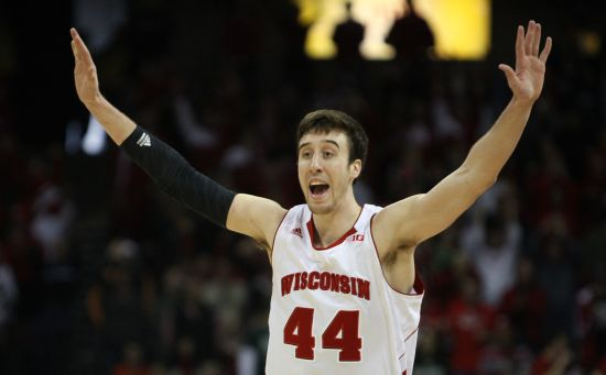 Frank Kaminsky might be the most important player in this tournament. (Reuters)