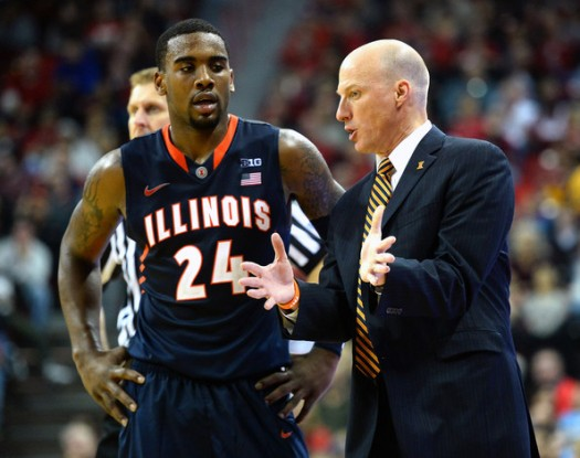 John Groce, Rayvonte Rice And The Illini Saw Their Tournament Hopes All But Die Thursday Afternoon