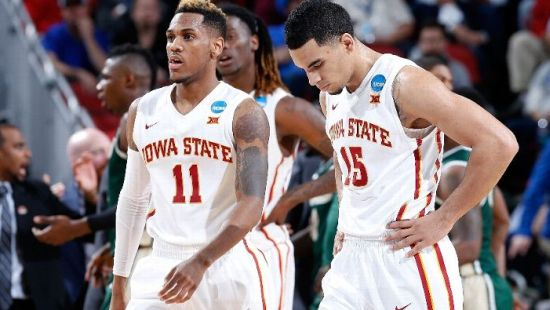 It wasn't a good day for the Cyclones. (Andy Lyons/Getty Images)