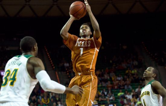 Texas point guard Isaiah Taylor will be critical to the 'Horns run. (Getty)