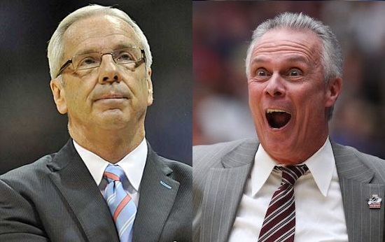 Talk about a major coaching matchup - Roy Williams and Bo Ryan are two of the best. (AP)