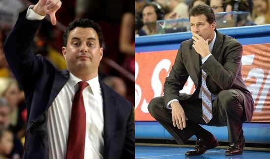 Two of the better coaches in the country go at in Las Vegas tonight. (AP)