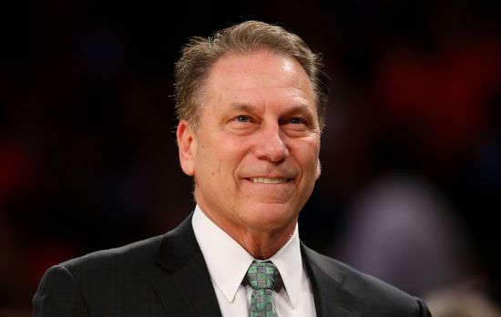 Tom Izzo and Michigan State beat a higher seeded Virginia for the second straight year. (rushthecourt)