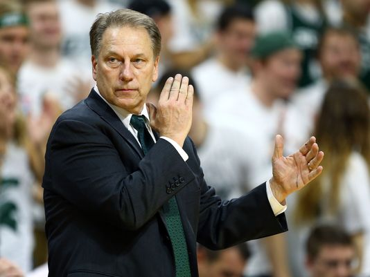 Tom Izzo's Team Is Getting Hot In March Once Again. Michigan State Takes On Wisconsin For The Big Ten Title On Sunday. (Photo: USA Today Sports)
