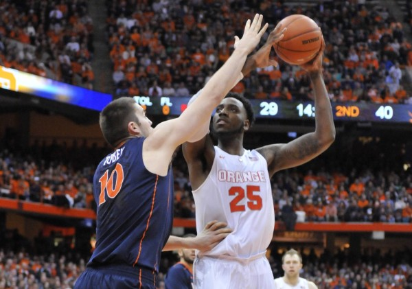 Rakeem Christmas was the bright spot in an otherwise bleak Syracuse season (USA Today Images)