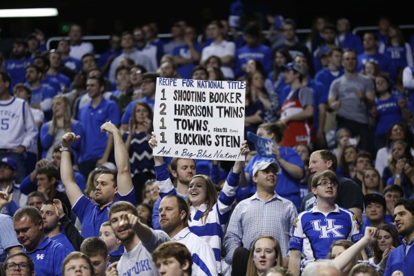 Kentucky Fans Have Filled Bridgestone Arena As Usual (USA Today Images)
