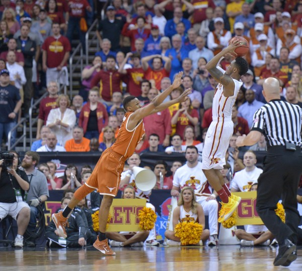 Monte Morris Lifted His Team to a Thrilling Comeback Win Over Texas (USA Today Images)