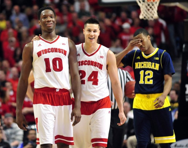The Badgers Were All Smiles Today in Chicago (USA Today Images)
