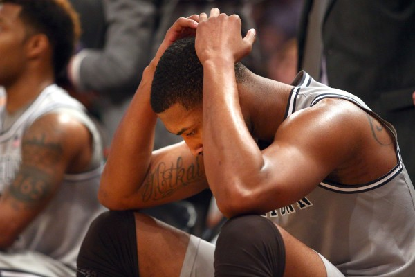 Another Disappointing March Moment for the Hoyas (USA Today Images)