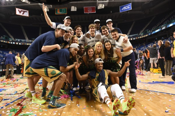 Notre Dame Notched Its First Conference Tournament Championship Ever (USA Today Images)