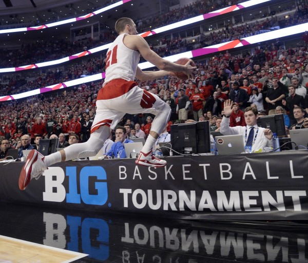 Josh Gasser May Have Saved Wisconsin's Big Ten Title (USA Today Images)