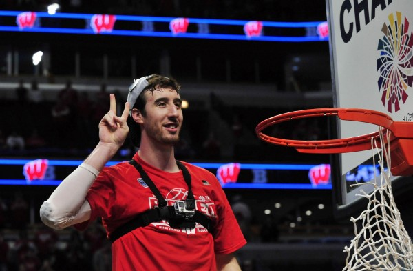 Frank Kaminsky and Wisconsin ended up getting a one seed and avoiding Kentucky for now. ( USA Today Images)