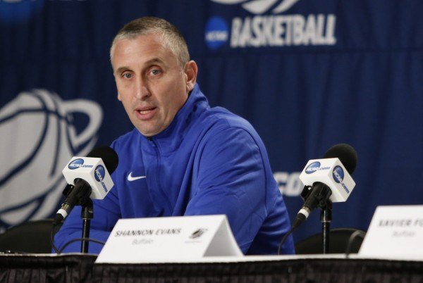 Bobby Hurley Addresses the Media in His Club State Blues.