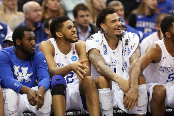 It Was All Smiles on the Kentucky Bench Again Tonight (USA Today Images)