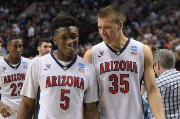 All Smiles at Arizona as the Wildcats Outlasted the Buckeyes Today (USA Today Images)