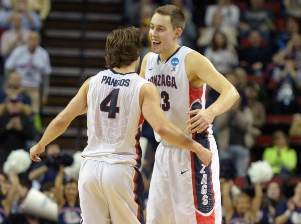 Gonzaga Rolled into the Sweet Sixteen Today in Seattle (USA Today Images)