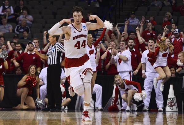 Frank the Tank Showed His Muscle as the Badgers are Sweet Sixteen Bound (USA Today Images)