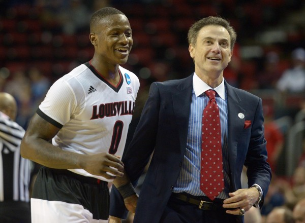 All Smiles as Louisville Advanced to Its Fourth Straight FInal Four (USA Today Images)