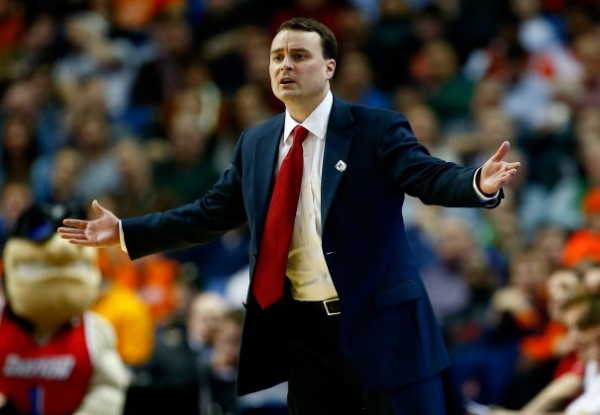 Dayton got hosed by the committee, but at least they get to play at home. (Photo courtesy of the Washington Post)