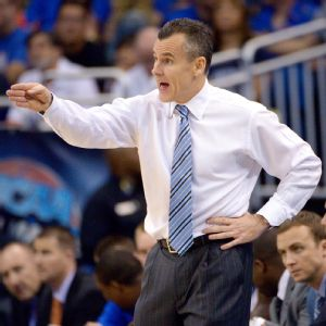 Billy Donovan did not mince words when talking about the Gators' struggles (AP/Phelan Ebenhack).