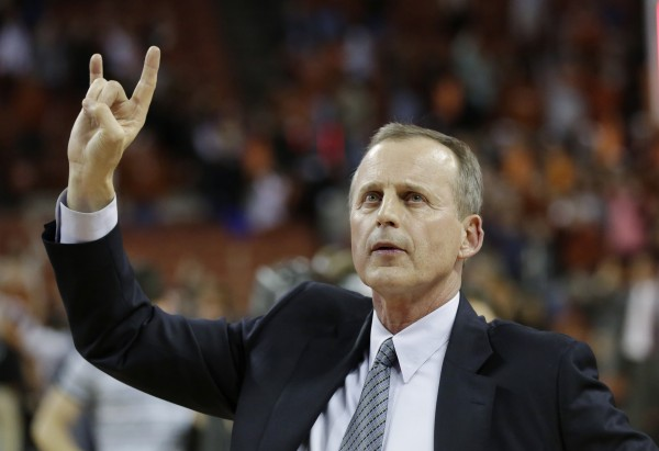 Rick Barnes brought unprecedented levels of success to Texas, but rocky seasons and early NCAA Tournament flameouts finally caught up to him. (AP Photo/Eric Gay)