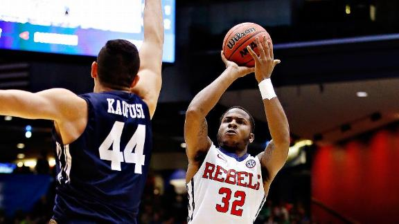 Jarvis Summers and the Rebels stormed back against BYU, but couldn't find the same shooting touch against Xavier (espn.com).
